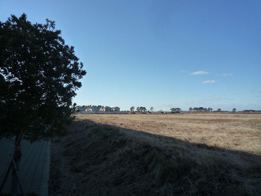 研究学園 来夢の杜方面からC46街区を眺めてみた。