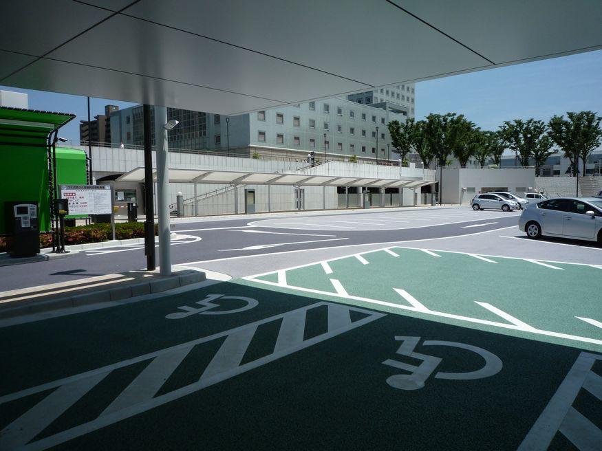 つくば市 つくば駅前駐車場