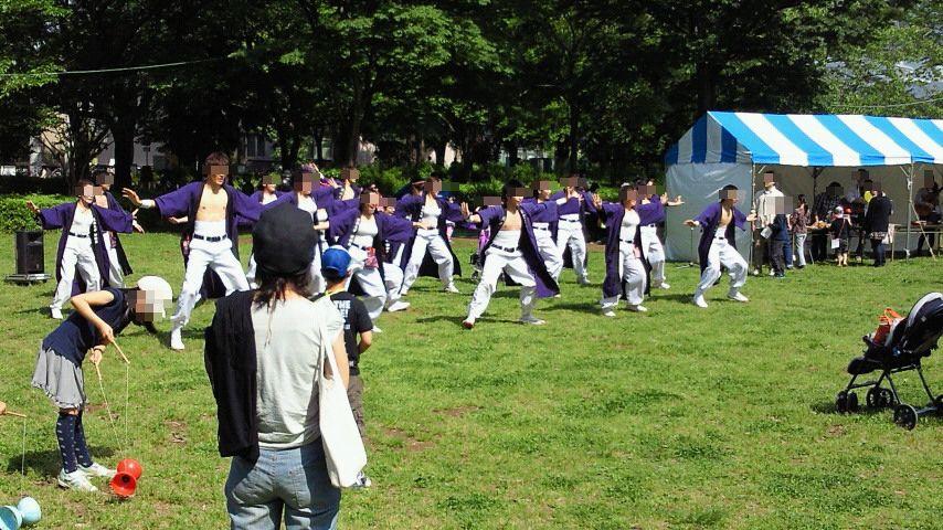 つくばフェスティバル 中央公園で斬桐舞を見てきました!