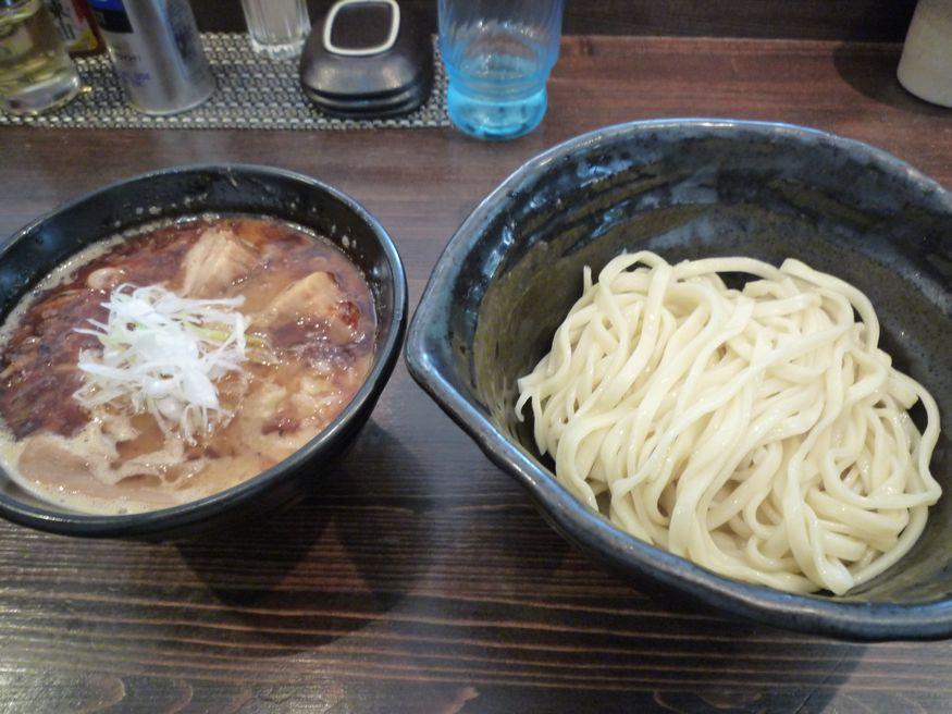 つくば ラーメン 「麺や 蒼(AOI)」 えびつけ麺!