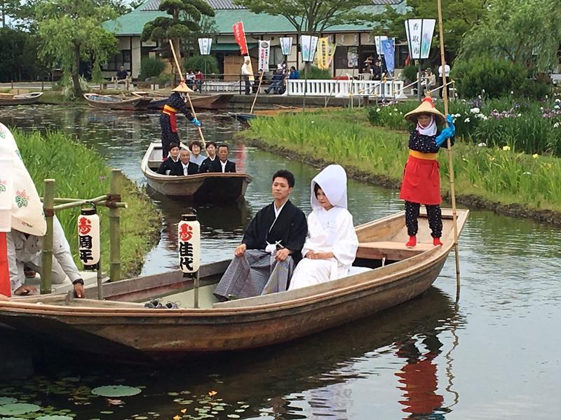 嫁入り舟★手作り結婚指輪