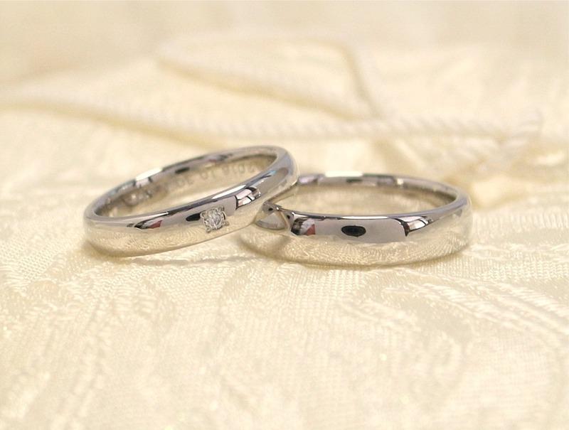 福音の指輪★シンプルなリングに愛をこめて