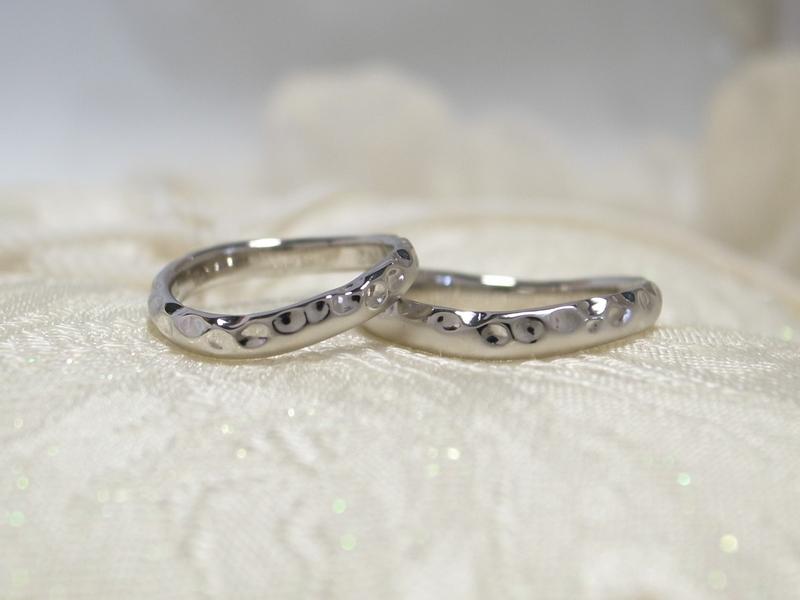 海の思い出リングに★自分達でつくる手作り指輪