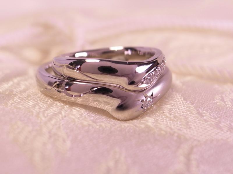サプライズ!贈り物は、手作り結婚指輪