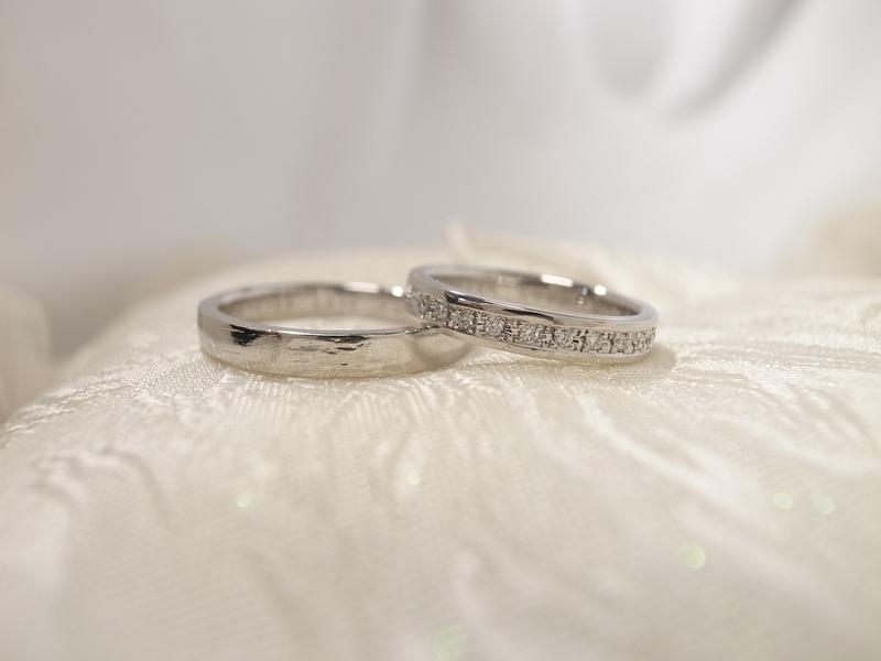 二人の愛を指輪に込めて、よさこい♪手作り結婚指輪