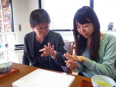稲穂のマリッジリング☆手作り結婚指輪