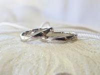 稲穂のマリッジリング☆手作り結婚指輪 2014/10/30 17:35:17