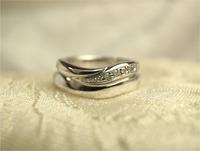 奇跡のマリッジリング☆手作り結婚指輪 2015/01/03 18:14:11
