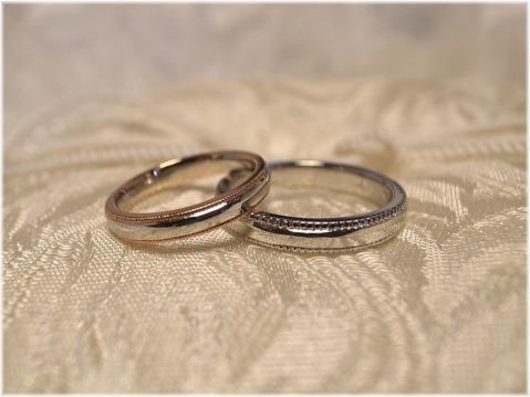 石屋さんの手作り指輪☆手作り結婚指輪