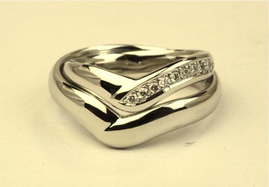 お姫様だっこのマリッジリング☆手作り結婚指輪