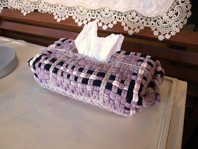 ゆび編みの小物達