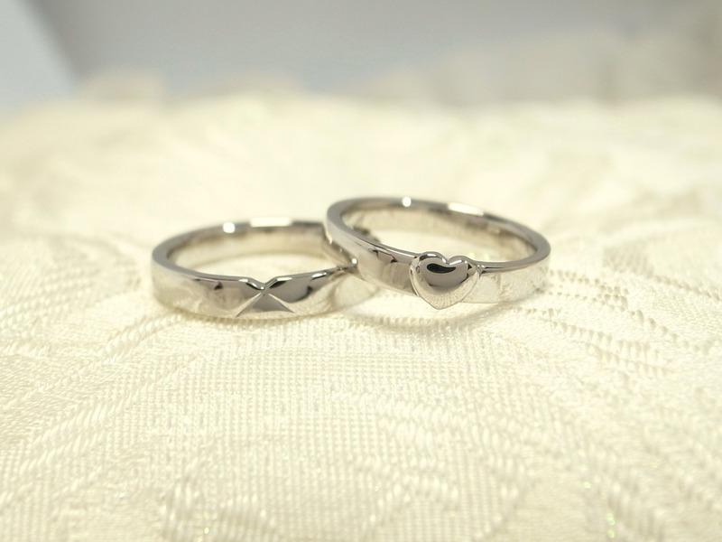 ハートリング★ティファニーより愛をこめて★フルオーダー結婚指輪