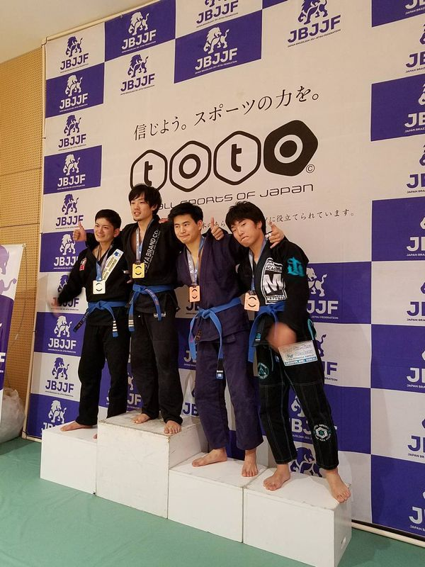 JBJJF関東柔術選手権に2選手が出場しました