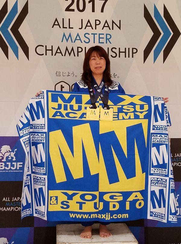 JBJJF第10回全日本マスター柔術選手権