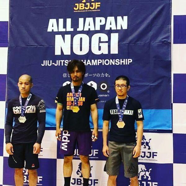 全日本ノーギ柔術選手権に出場しました。