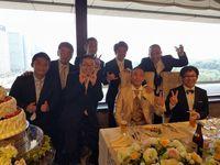 仲由さんの結婚式
