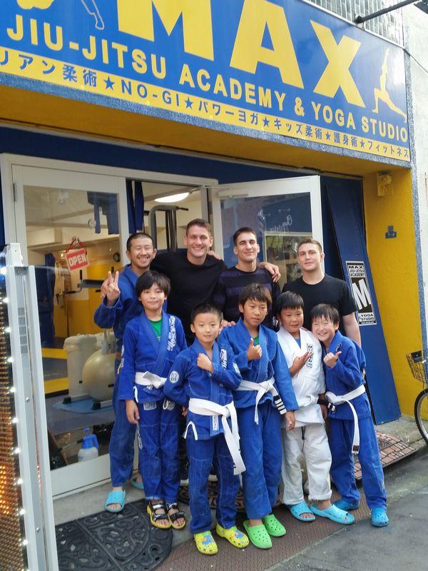 メンデスブラザーズスーパーセミナー@マックス柔術アカデミー&ヨガスタジオに参加してきました。