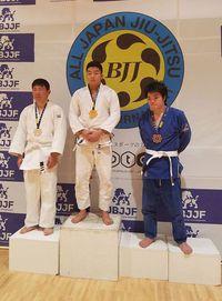 第6回 全日本ブラジリアン柔術オープントーナメントにナオキが出場