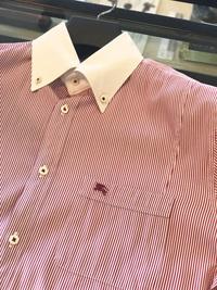 擦り切れてしまったシャツの袖と襟をお直し!