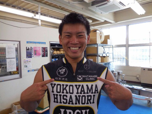 KEIRIN 横山尚則選手を応援しています!