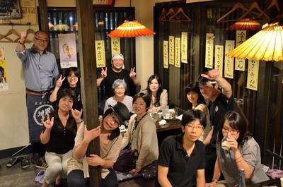 先日の洞峰はなび稲葉酒造日本酒の会♪