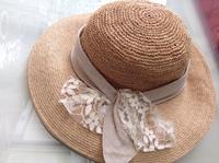 CA4LA(カシラ) ラフィア帽子