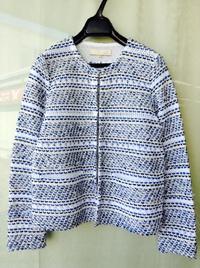 自由区×米富繊維コラボ ツイードジャケット