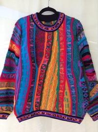 COOGI(クージー) 編み込みセーター