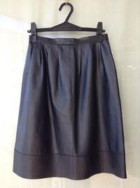 日本製★シープレザースカート