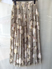 INGEBORG(インゲボルグ)byPINKHOUSE 花柄プリーツスカート