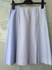 MOSCHINO(モスキーノ) ストライプ&チェック スカート