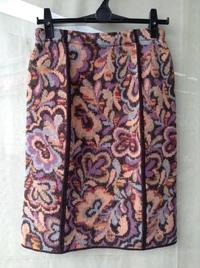 MISSONI(ミッソーニ)ジャガードニットスカート