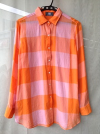 TRANS WORK + MANTECO チェックシャツ