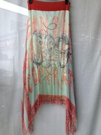 JEAN PAUL GAULTIER(ジャンポールゴルチェ)シルクスカート