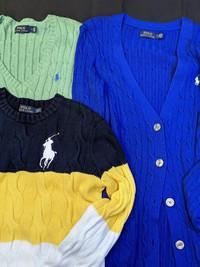 Polo Ralph Lauren(ポロラルフローレン)ケーブルニット&フーディー