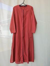 ANOKHI(アノーキ)インド綿のシャツワンピース