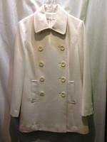 AUJARDオフホワイトコート
