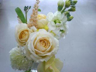 かわいい花束を頂きました