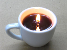 コーヒーキャンドル