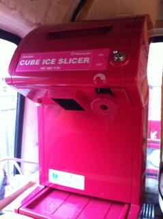 もっくんカフェ かき氷機