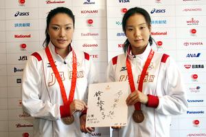 北京五輪代表シンクロナイズドスイミング・・・
