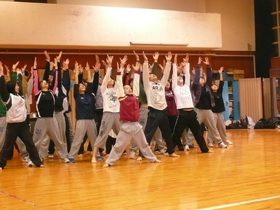 卒業ダンス公演♪090218