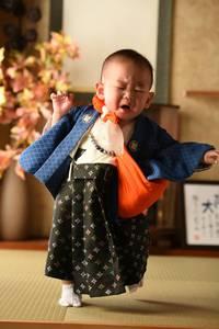 祝♪1才の息子ちゃん\(^o^)/