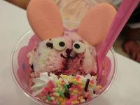 サーティワンアイスクリーム(*^O^*)♪ハッピードールうさぎ♪