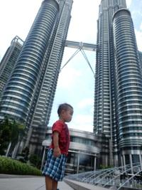 息子ちゃんの初海外(*^^*)マレーシア♪