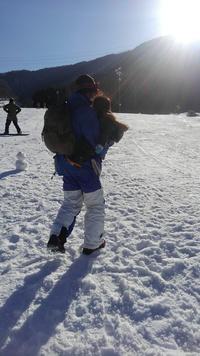 息子ちゃん初スキーデビュー(*^▽^*)
