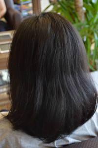 毛先が曲がる縮毛矯正もあります