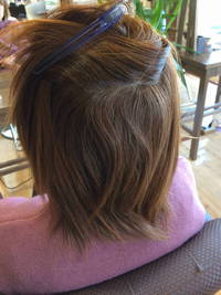 ダメージ毛でもある程度は矯正も出来るけど、限度はある。でもがんばる!