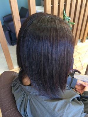 ダメージを受けやすくてうねりもしっかりの髪の毛の矯正