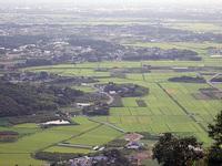 筑波山(フルーツライン)からの風景